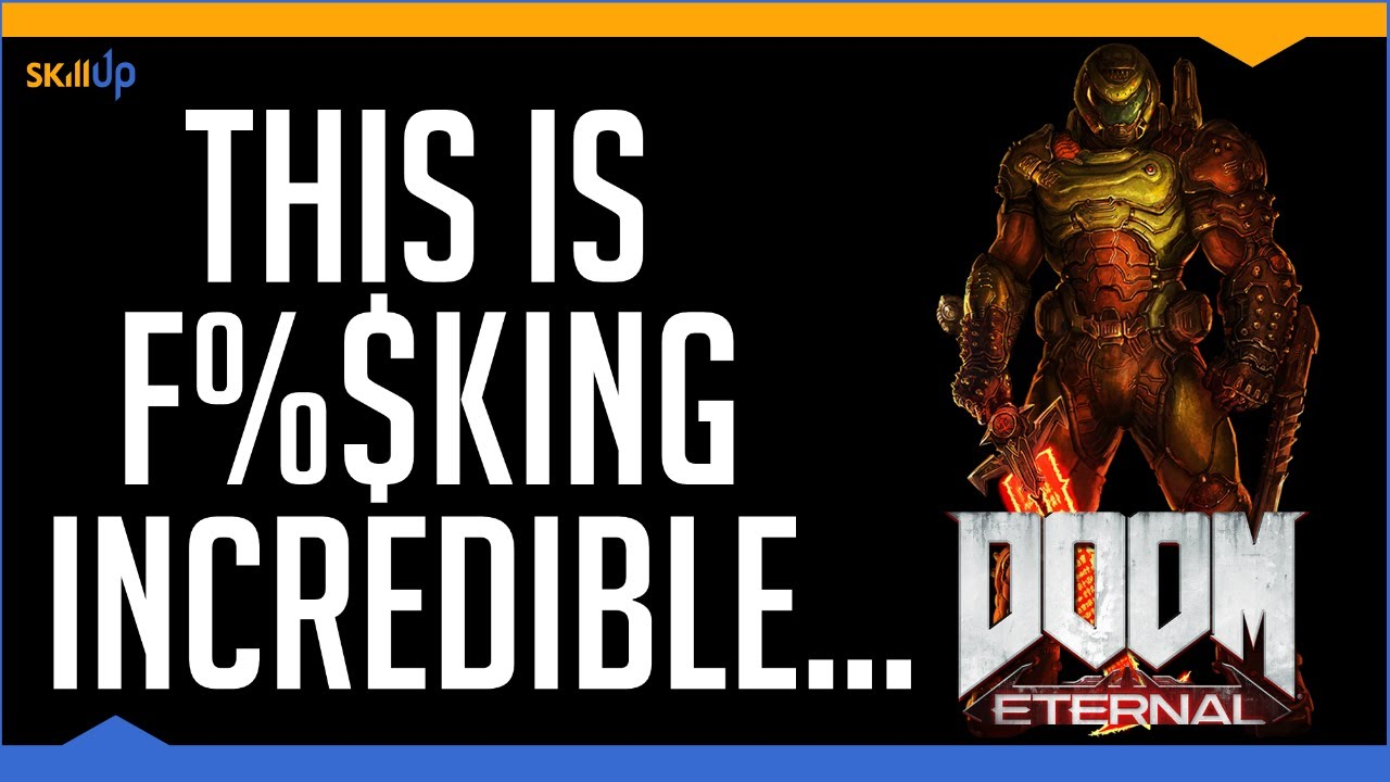 ...but I think Doom 2016 was better (Doom Eternal Review) (Video Game Video Review)