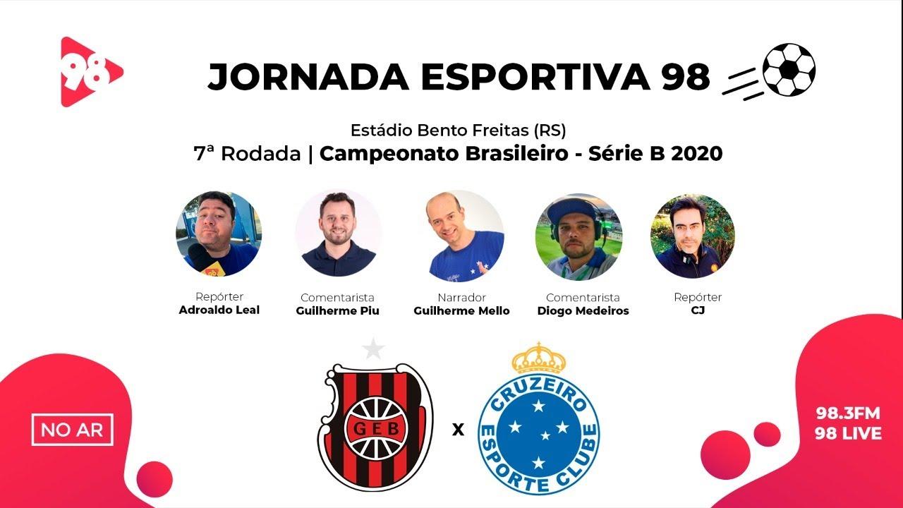 Download BRASIL DE PELOTAS x CRUZEIRO | BRASILEIRÃO SÉRIE B | AO VIVO RÁDIO 98FM