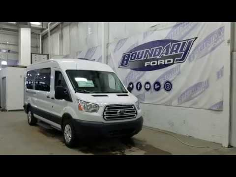 2019 Ford Transit Van T350 XLT W/ 3.5L EcoBoost, Remote Start Overview | Boundary Ford