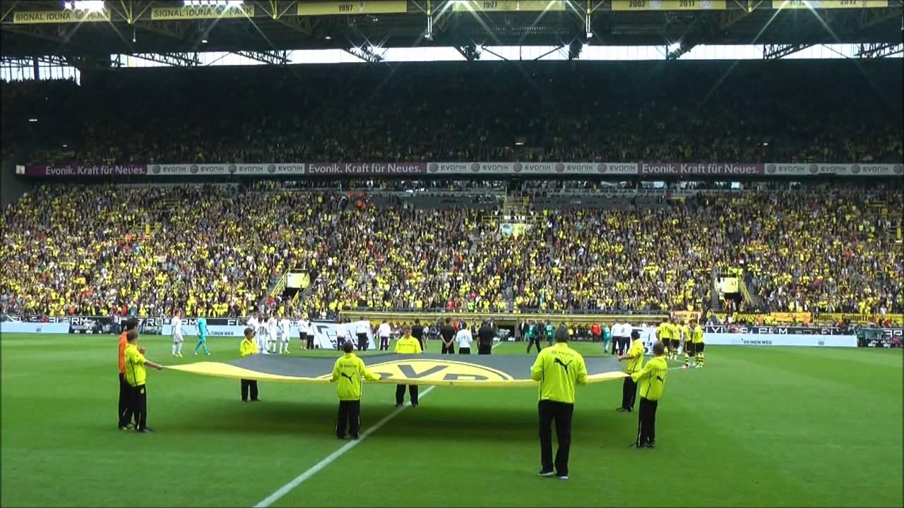 BVB - Leverkusen Stimmung Südtribüne Borussia Dortmund vs Bayer