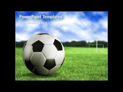 Football Field Powerpoint Template Backgrounds Digitalofficepro