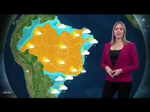 Frente Fria Causa Chuva No Sul Do País