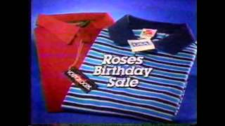 1989 Roses Commercial (74th Birthday Sale)