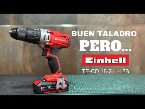 Taladro Einhell TE-CD 18-2 Li-i 2B