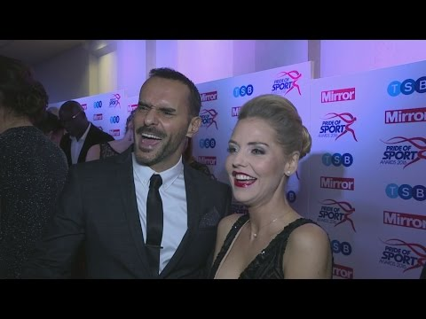 Stephanie Waring and Michael Greco are an item