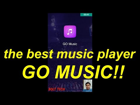 GO MUSIC!! the best music player ever!!! excellent for android users...