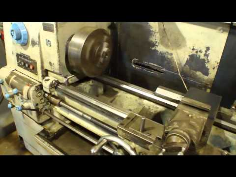 Online Auction Cincinnati 19x96 Engine Lathe