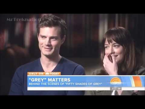 Behind The Scenes Fifty Shades Of Grey - Jamie Dornan & Dakota Johnson