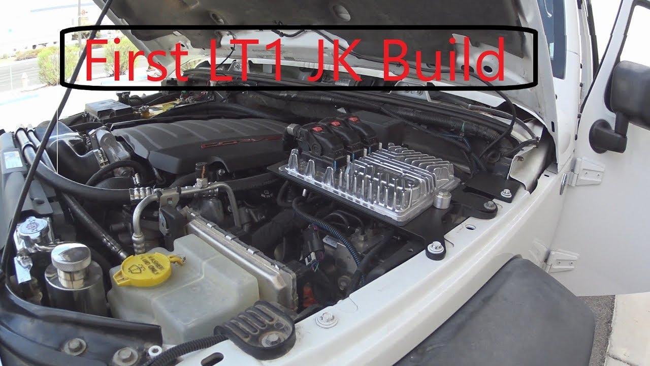 First LT1 Jeep JK Wrangler Build!