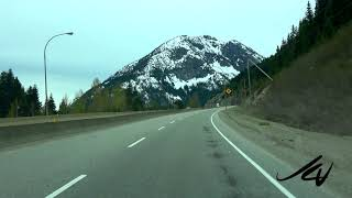 Angry Canadian  May Long Weekend 2020   part 2, Merritt to Coquihalla Summit - I love driving