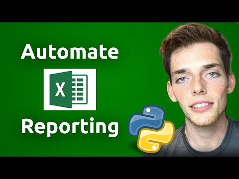 Automate Multiple Sheet Excel Reporting - Python Automation Tutorial | Full Code Walk Through (2019) thumbnail