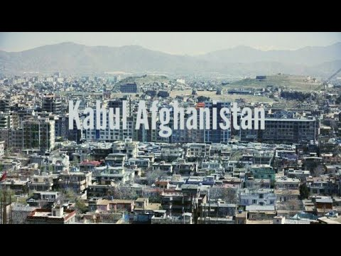 New Kabul Afghanistan View Footage 2018