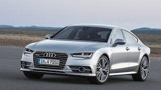 2016 Audi A7 Start Up and Review 3.0 L Supercharged V6