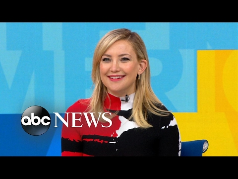 Catching up with Kate Hudson live on 'GMA'
