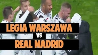 Legia Warszawa vs Real Madrid 3-3 All Goals and Highlights  ● UCL 16/17 ● 3/11/2016