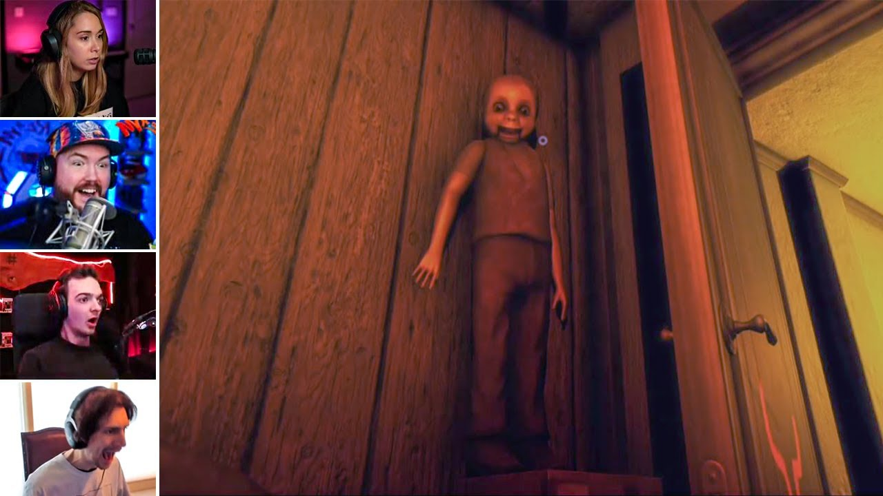 Top Horror Games Jump Scare Compilation Part 142 (Horror Games)