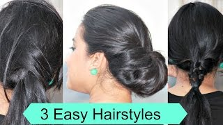 3 Quick & Easy Heatless Hairstyles For Lazy Girls