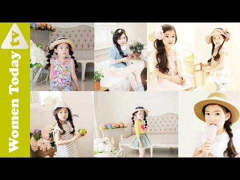 🌺 Các Kiểu Tết Tóc Đẹp Cho Bé Gái Dành Cho Mẹ | Làm Tóc Đẹp | Hairstyle For Cute Girl