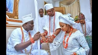 The Ooni Of  Ife Introduces His New Wife  Olori  Of Ife A Prophetess And An Evangelist