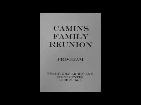 Camins Family Reunion Program
