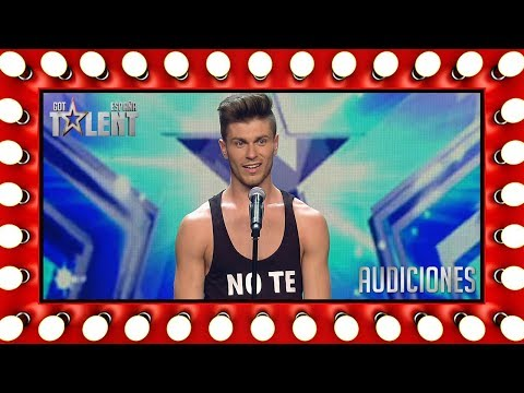 Awesome video projection dance routine | Auditions 7 | Spain's Got Talent 2018