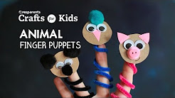 DIY Animal Finger Puppets | Crafts for Kids | PBS Parents
