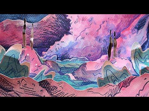 Paper Art Illustration - Emily is Burning