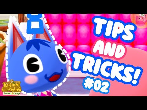 ♡ TOP POCKET CAMP BEGINNERS TIPS, RARE ITEMS, FREE LEAF TICKETS | ACPC Top Tips + Tricks #02 ♡