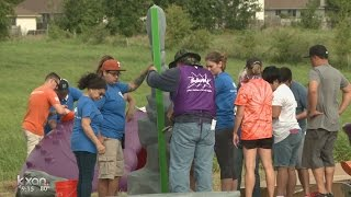 Playground built for children with special needs in Hutto