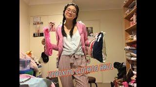 UNBOXING CLOTHING HAUL