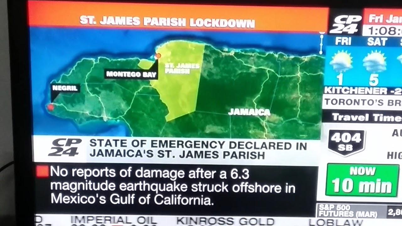 CP24 NEWS TORONTO, JAMAICA STATE OF EMERGENCY January 19 ...