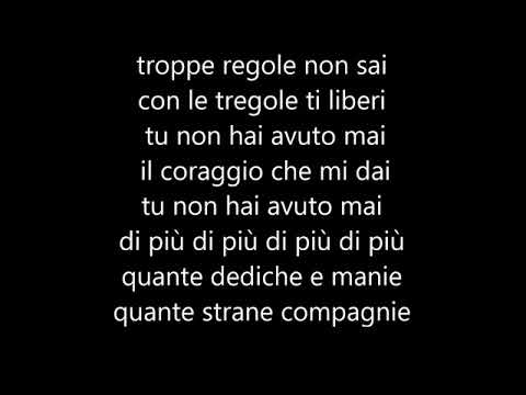 Biagio Antonacci - Fortuna che ci sei (Testo)