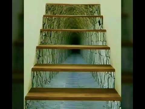 Amazing 3D Staircase Risers Decoration !!!