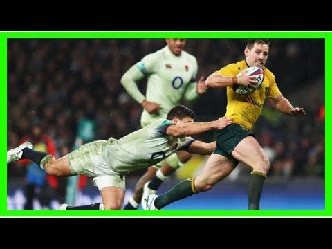 Wallabies player ratings from england loss, michael cheika interview video, kurtley beale yellow ca