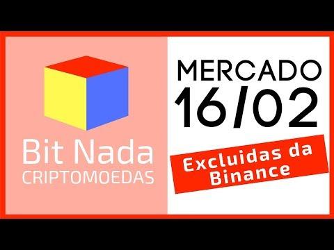 Mercado de Cripto! 16/02 BTC / LTC / KEY / Moedas excluídas da Binance / Fork Monero
