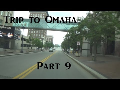 Trip to Omaha | Part 9 of 13 | Downtown Omaha and starting the trip home