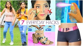 7 EVERYDAY LIfe HACKS You MUST Know ... | #SkinCare #Beauty #Periods #Fun #Anaysa