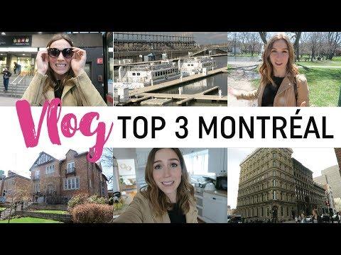 Vlog #106 - Mes endroits préférés à Montréal !