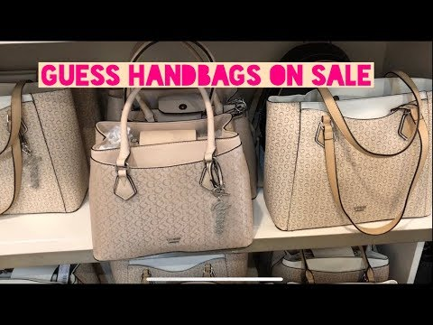 GUESS HANDBAGS ON SALE SUPER AFFORDABLE|U.S.A