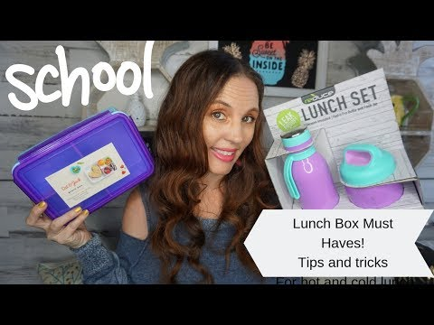 School lunch box must haves| lunch boxes Tips and Tricks