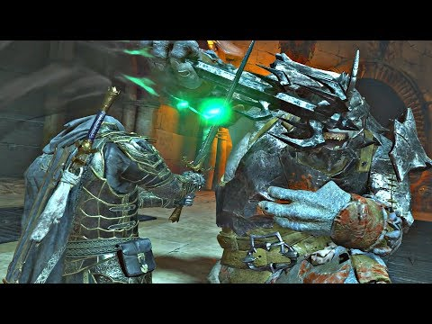 Shadow of War - Level 700 Online Fortress Siege & Overlord Boss + MAX Level Nazgul Sword