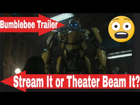 Transformers Bumblebee The Movie Trailer...