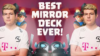 BEST MIRROR DECK EVER! 2.8 MINER FIRECRACKER CYCLE - Clash Royale
