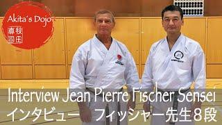 Interview with Sensei Jean Pierre Fischer, 8th Dan - Seminar in Luxembourg (Akita´s Karate Video)