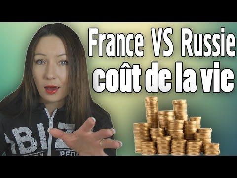 La vie en Russie plus cher qu'en France *** VOS QUESTIONS
