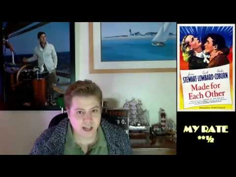 """""""Made for Each Other"""" 1939 Movie Review - Episode #18"""
