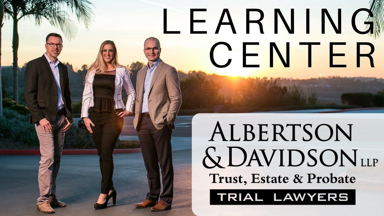 California Trust, Estate & Probate Litigation | Albertson
