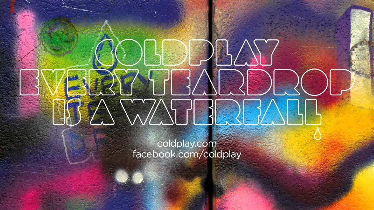 Every Teardrop Is A Waterfall Coldplay Numbered Al Notation Preview