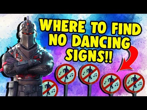 Fortnite *NO DANCING SIGNS* Forbidden Locations Challenge! (Where To Find Them) ~ EASY Tutorial!