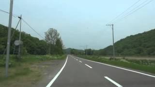 北海道道766号和訓辺渚滑停車場線:林道交点~国道273号交点[紋別市]